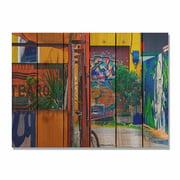 Day Dream HQ GG3324 33 x 24 in. Garden Graffiti Inside & Outside Cedar Wall Art