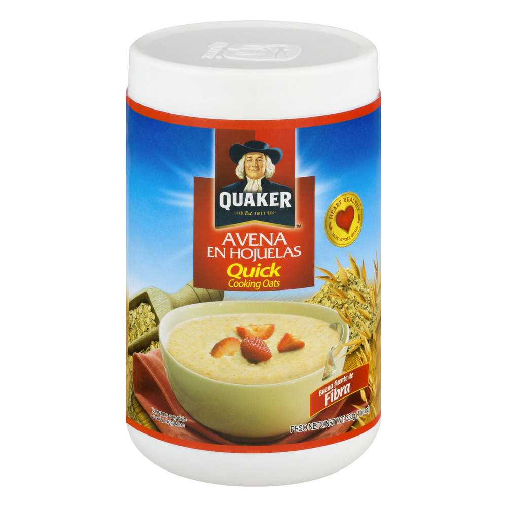 Quaker Quick Cooking Oats, 11.6 OZ