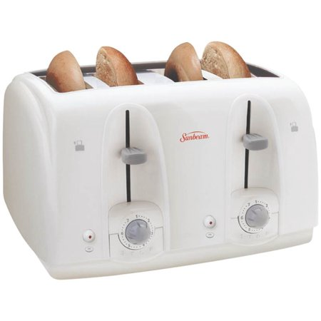 Sunbeam 003823-100-000 Electric Toaster, 4 Slice