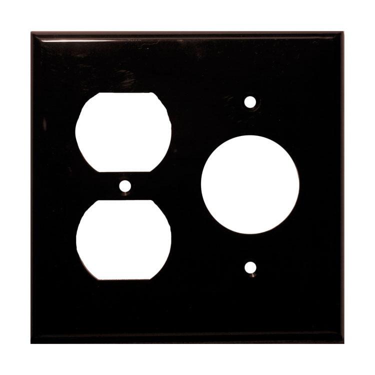 Lexan Wall Plates 2 Gang 1 Duplex 1 Single Brown