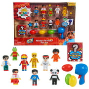 Ryan's World Deluxe Mystery Fig Set, 14 Pieces Include Surprise Ultra Rare Fig and an Egg Blaster, Toys for Kids