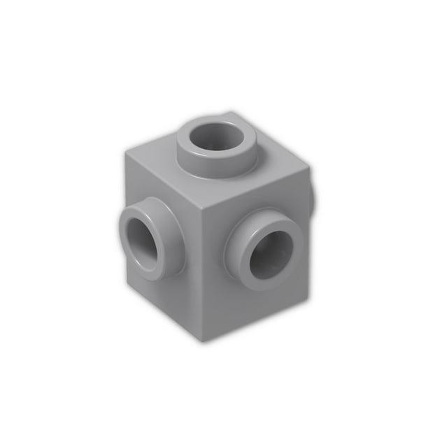 LEGO Brick Modified 1 x 2 x 1 2//3 4 Studs on 1 Side Light Bluish Gray NEW X30
