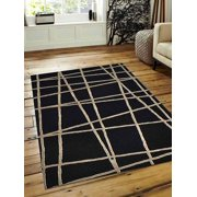 Rugsotic Carpets Hand Woven Flat Weave Kilim Wool 8'x10' Area Rug Contemporary Multi D0A117