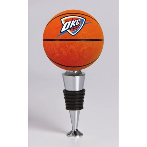 Oklahoma City Thunder Official NBA  Basketball Bottle Stopper by Evergreen