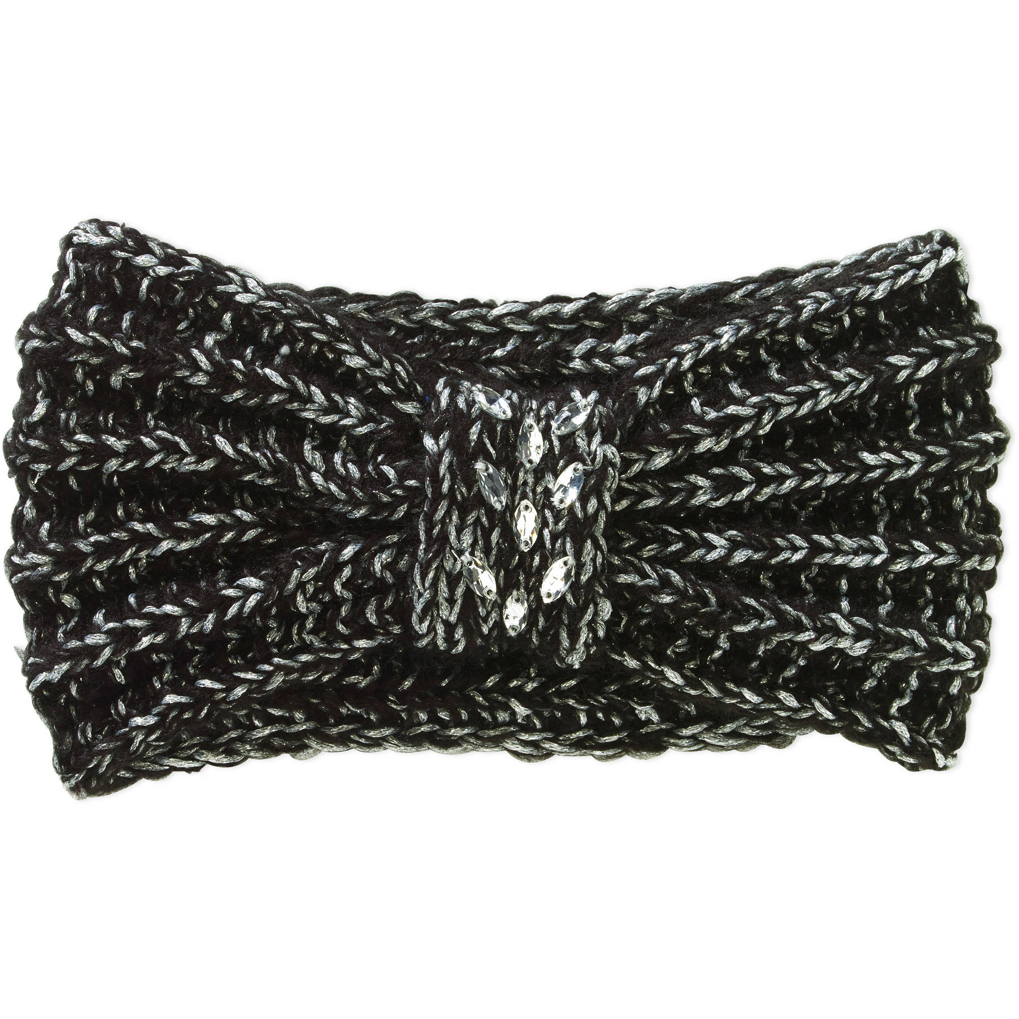 Faded Glory Women's Cold Weather Headband with Knit Bow