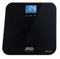 A&D Medical PlusConnect Multi-User Weight Scale with Bluetooth
