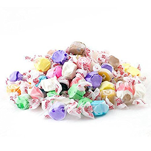 Assorted Salt Water Taffy, Assorted Flavors (Pack of 22 Ounces) by