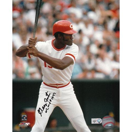 MLB - George Foster Cincinnati Reds Autographed 8x10 Photograph with NL MVP 1977 Inscription