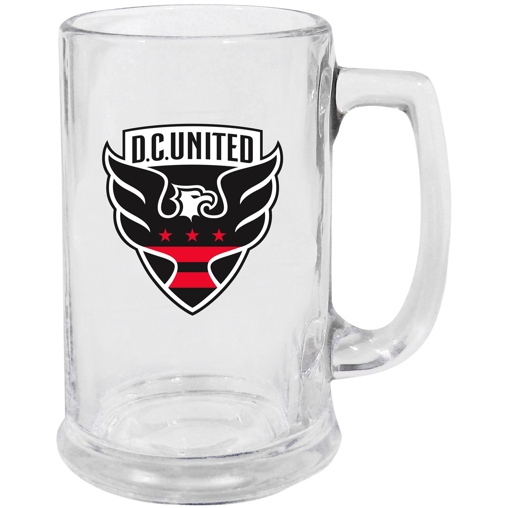 D.C. United 15oz. Glass Stein - No Size