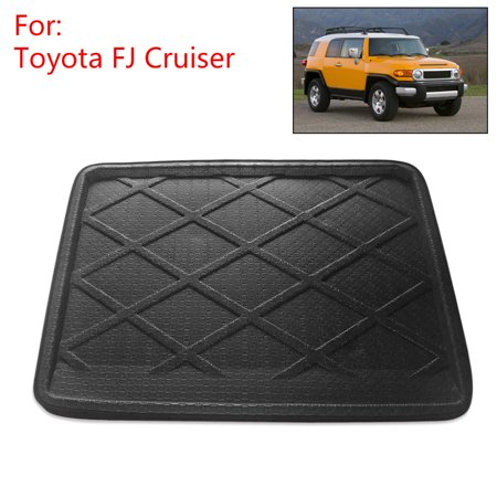 Rear Trunk Tray Liner Cargo Floor Mat for Toyota FJ Cruiser 2007 ()