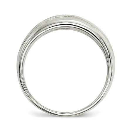 925 Sterling Silver Fancy Ring - image 1 de 4