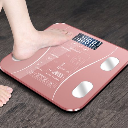 Body Fat Scales Intelligent Electronic Weight Scale High Digital BMI Scale Water Mass Health Body Composition Analyzer Monitor - image 4 of 7