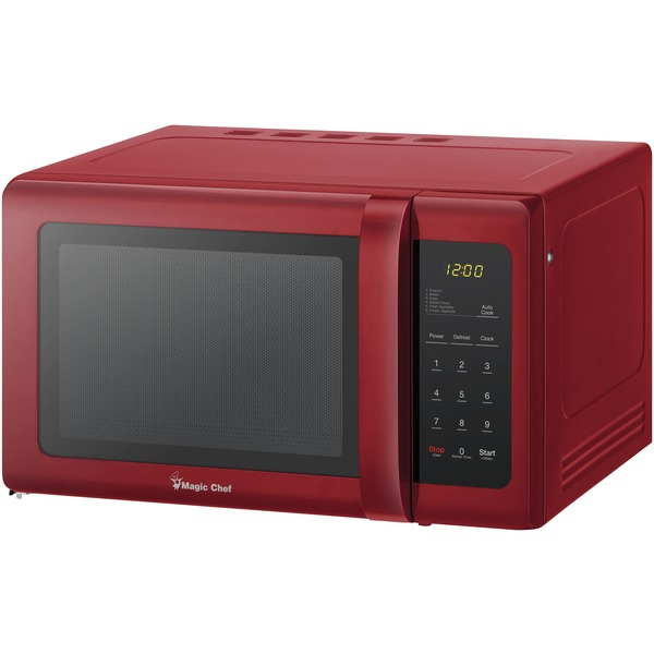 Magic Chef(R) MCD993R .9 Cubic-ft Countertop Microwave (Red)
