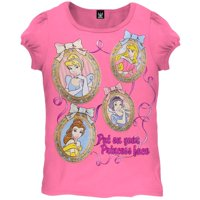 402379eef Product Image Disney Princesses - Face Frame Juvy Girls T-Shirt