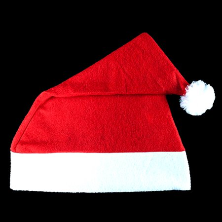 Economy Santa Hats - 10 per pack