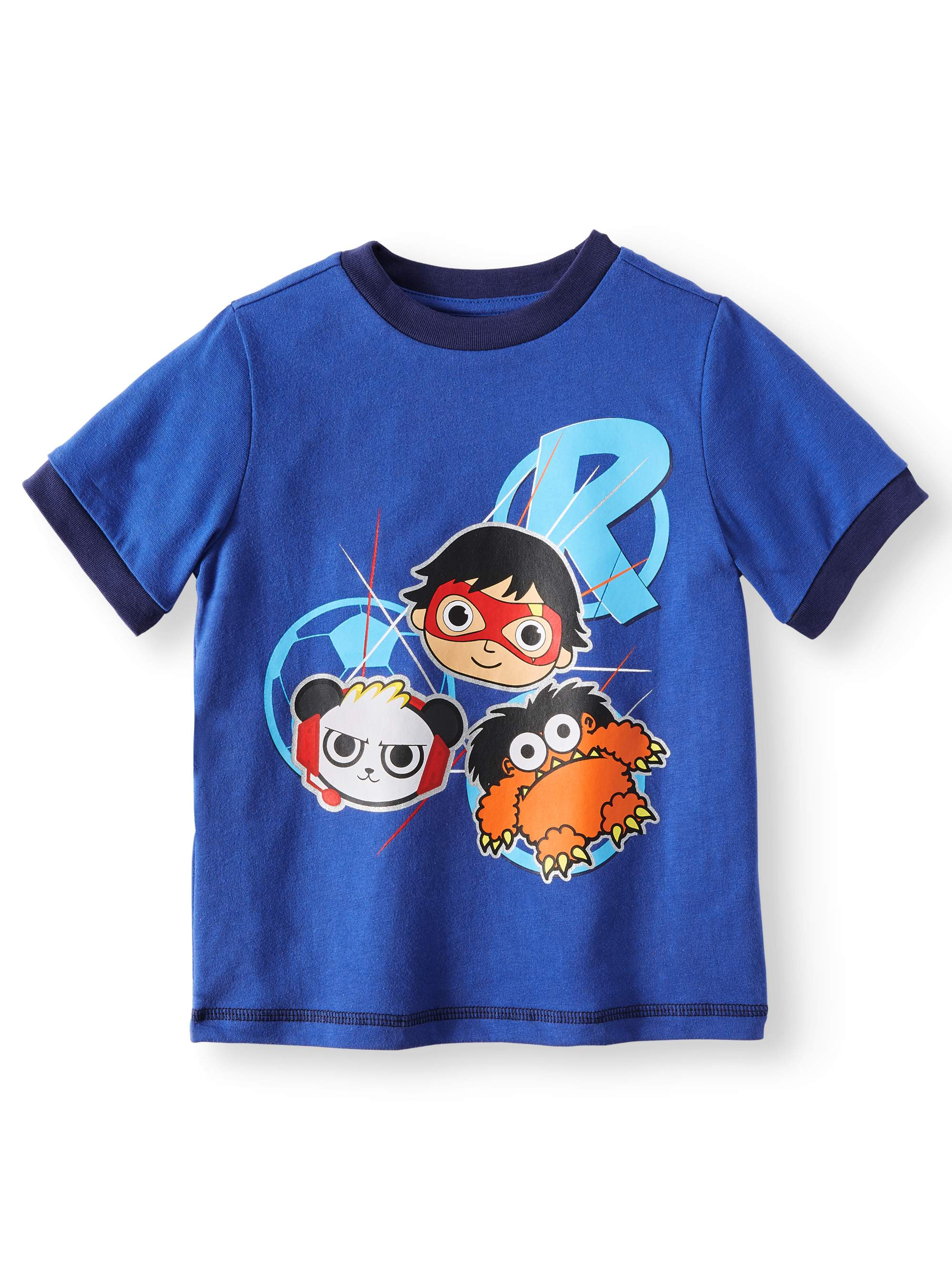 19d03cb59 Ryan's World - Short Sleeve Graphic Tee Shirt (Little Boys & Big ...