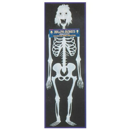 Costumes For All Occasions 33806 Ma Bones Skeleton Glo