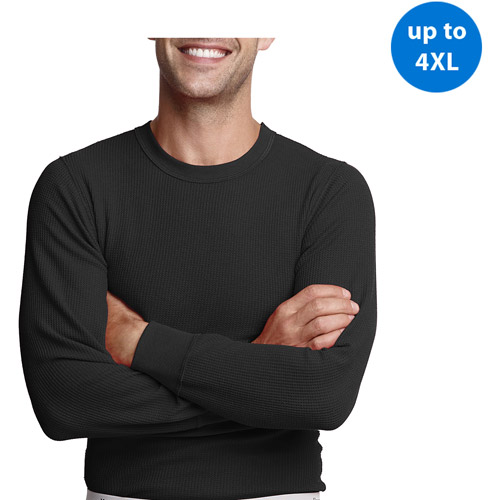 Hanes Big Men's X-Temp Thermal Underwear Crew Tee