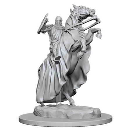 Deep Cuts Unpainted Minis: Knight on Horse