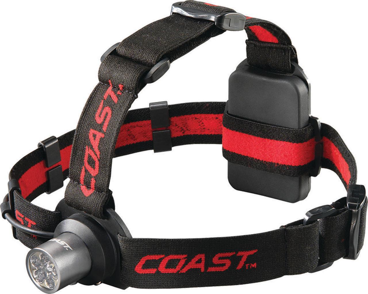 Coast TT7041CP 6 Chip LED Headlamp