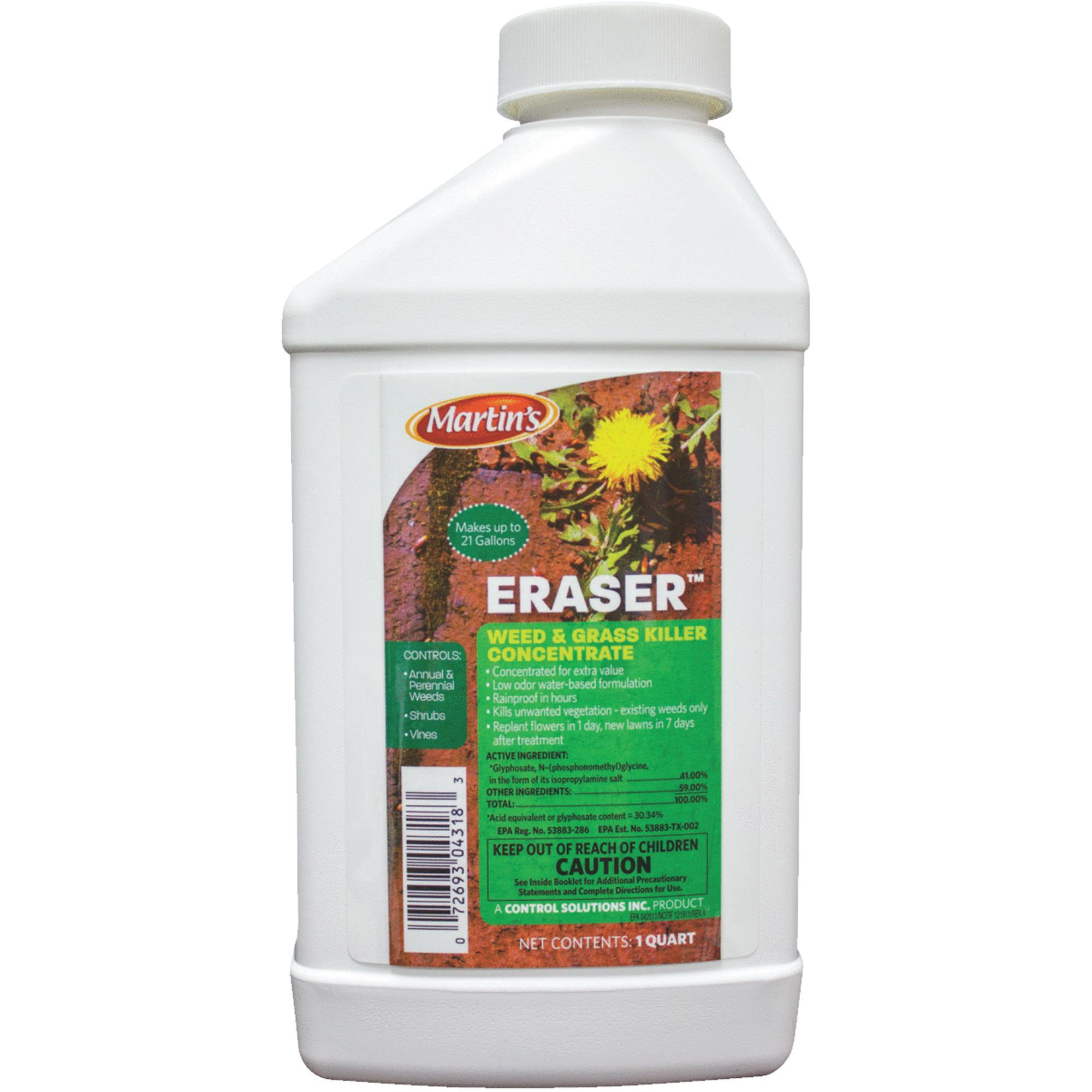 Martin's Eraser Weed & Grass Killer