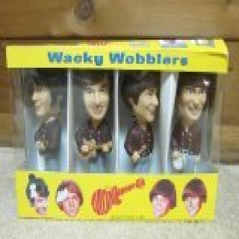 FUNKO INC. The Monkees Wacky Wobblers bobble-head dolls set
