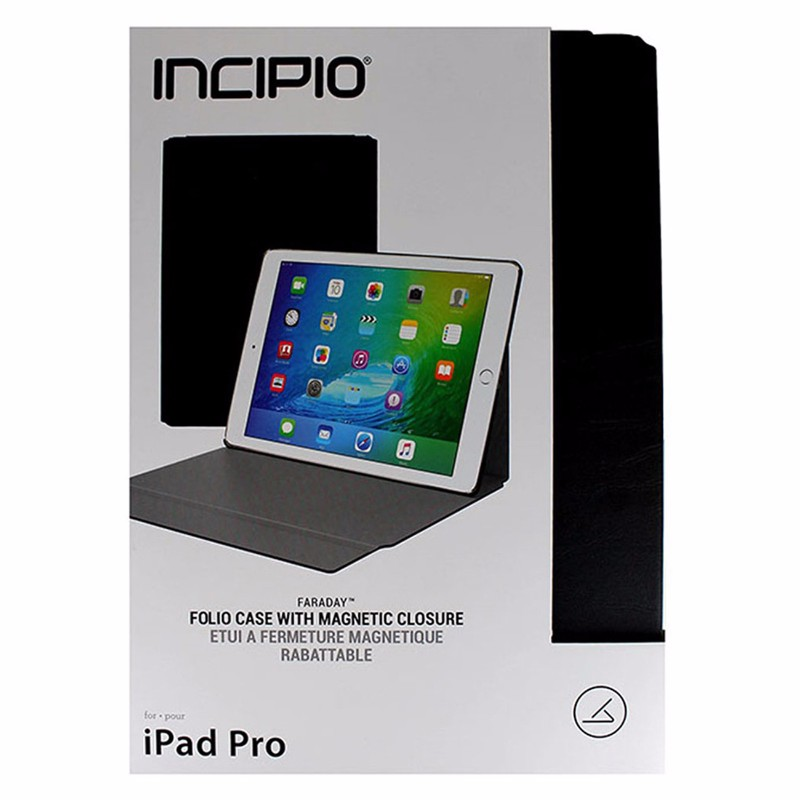 "Incipio Faraday Folio Case with Magnetic Closure for iPad Pro 12.9"" - Black"