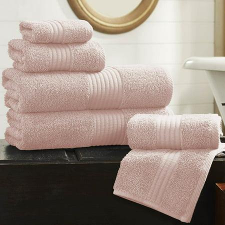 - Allure 600gsm Hydro Soft 6 Piece Towel Set - Rose