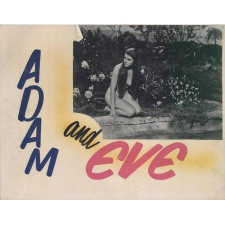 Adam and Eve POSTER Movie B Mini Promo
