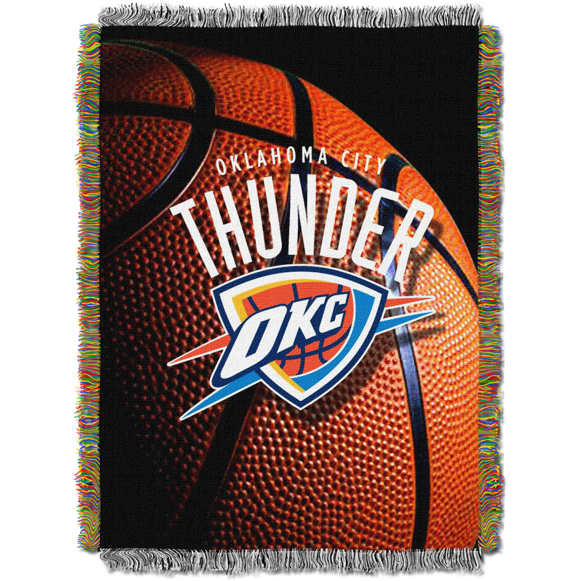 "NBA 48"" x 60"" Photo Real Series Tapestry Throw, Thunder"
