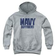 US Navy Boyfriend Big Boys Pullover Hoodie