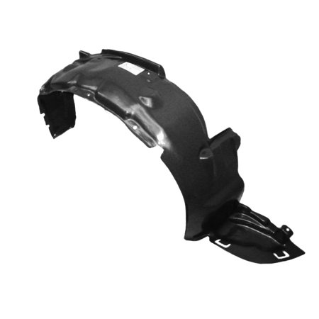 Parts N Go 1992-1995 Honda Civic Fender Liner Passenger Side RH Splash Shield - HO1249102, 74101SR3000