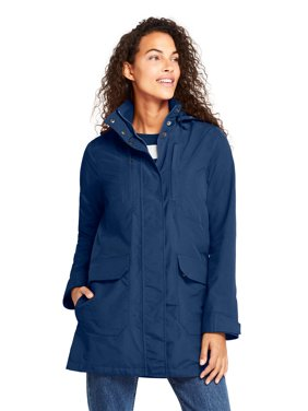 Lands' End Women's Squall Lightweight Raincoat