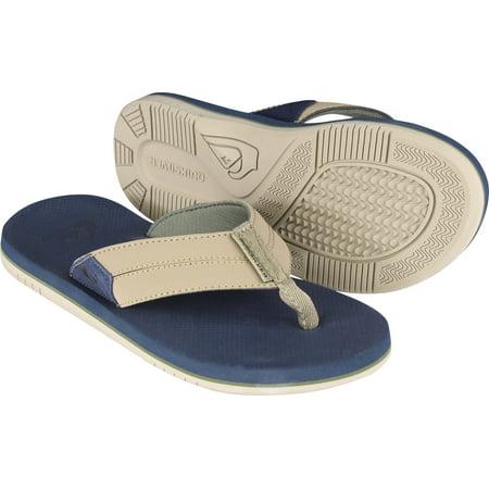 Quiksilver Mens Coastal Oasis II Beach Casual Sandals - Tan/Dark Brown
