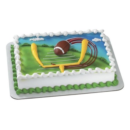 Football Magnet Cake Topper