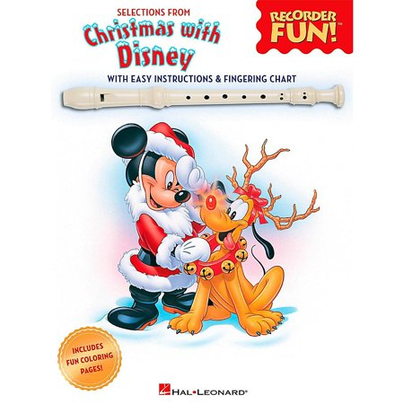 Disney Recorder Music (Hal Leonard Selections From Christmas With Disney - Recorder Fun! Songbook [Sheet)