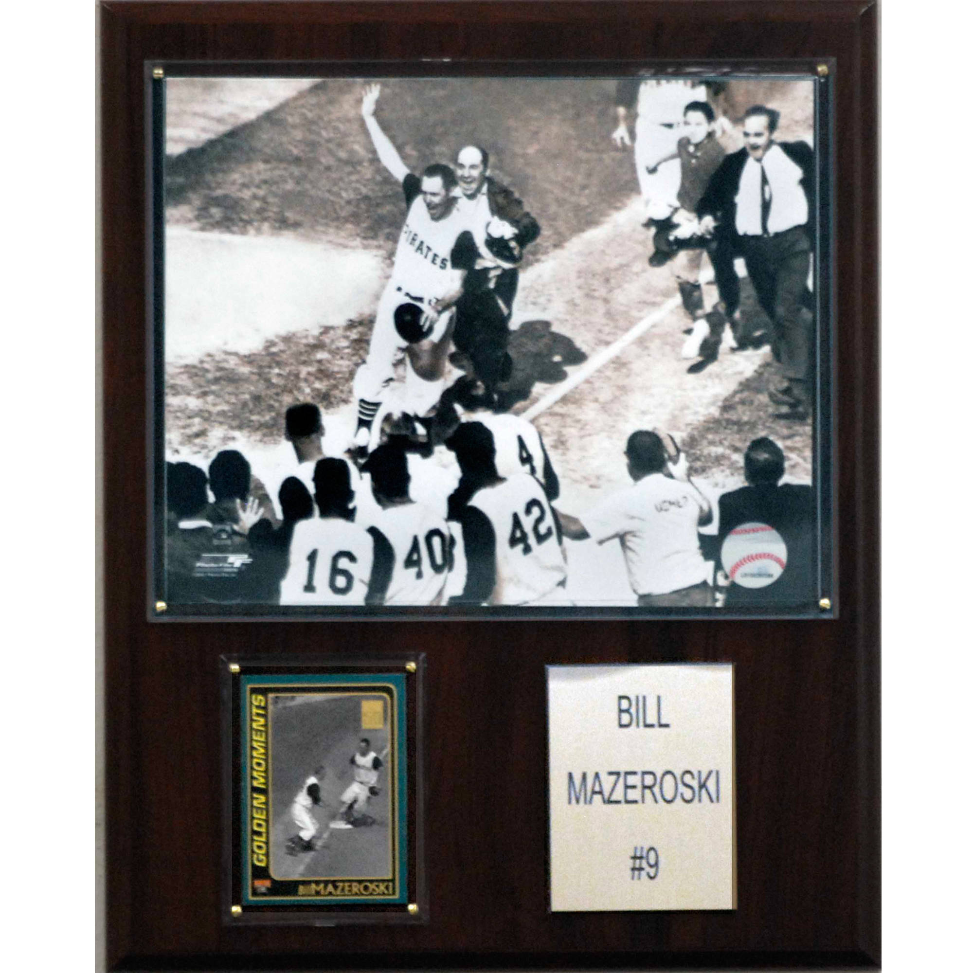 C&I Collectables MLB 12x15 Bill Mazeroski Pittsburgh Pirates Player Plaque