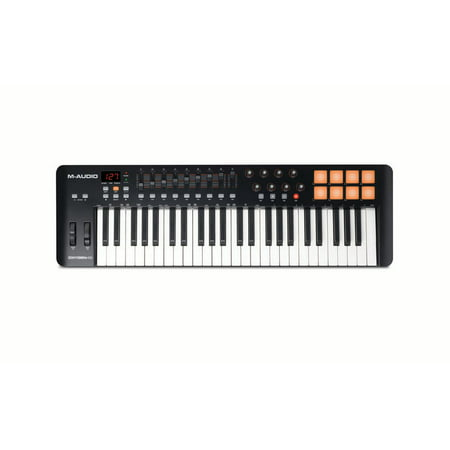 M-Audio Oxygen 49 MK IV USB MIDI Performance Keyboard (Best Midi Controller On The Market)