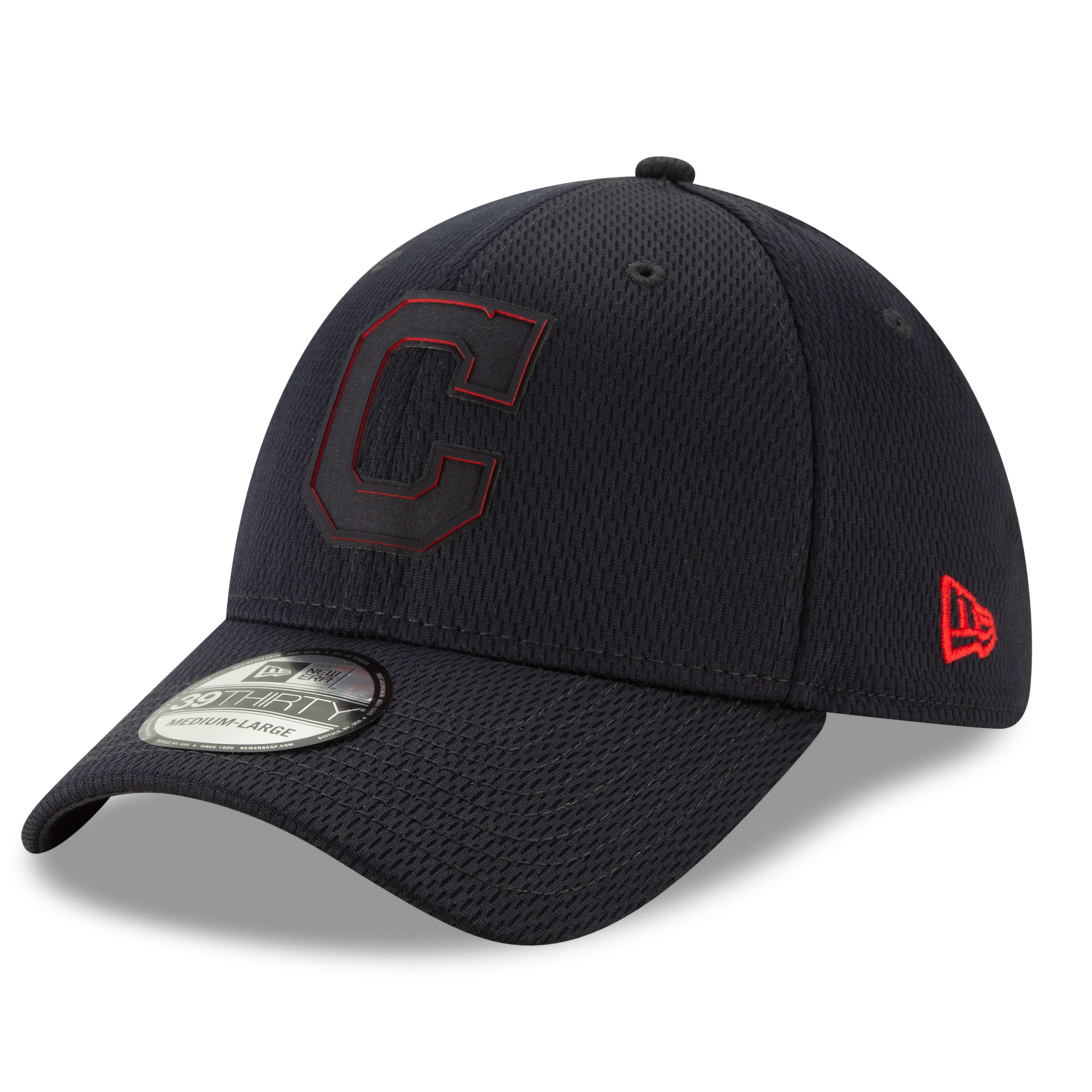 Cleveland Indians New Era 2019 Clubhouse Collection 39THIRTY Flex Hat - Navy