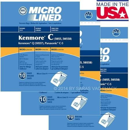 30 Sears Kenmore Vacuum Cleaner Bags 5055 50557 50558 Dvc  Ship From Usa Brand Generic   30 Sears Kenmore Vacuum Cleaner Bags 5055 50557 50558 Dvc