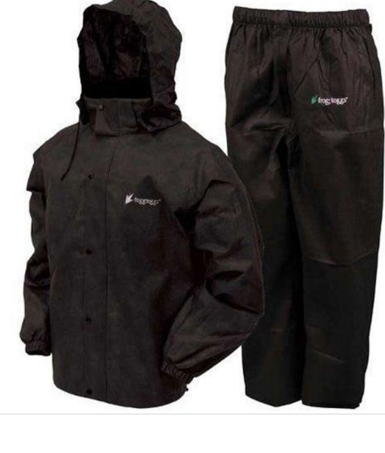 All Sports Rain Suit Black by