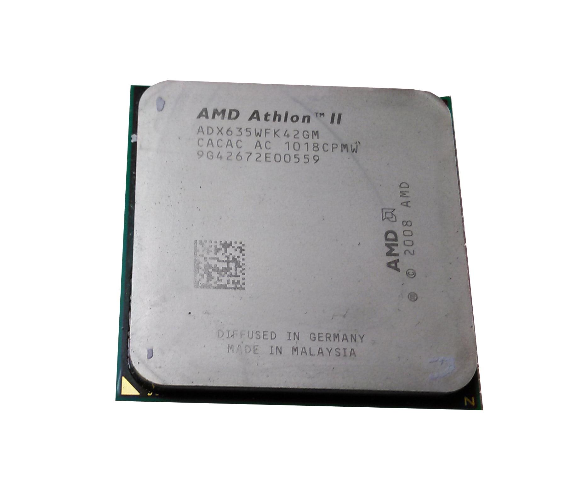 Athlon Ii X4 Quad Core 635 2 9ghz Processor Walmart Com Walmart Com