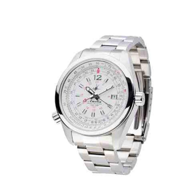 Image of Abingdon 0610696150714 Aviatrix Collection Amelia - Cloud White Stainless Steel Women Watch
