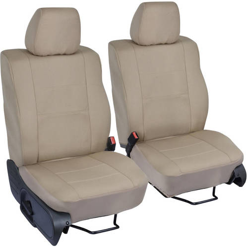 PolyCustom Seat Covers for Ford F-150 Crew 04-08, Single Bucket, EasyWrap Cloth