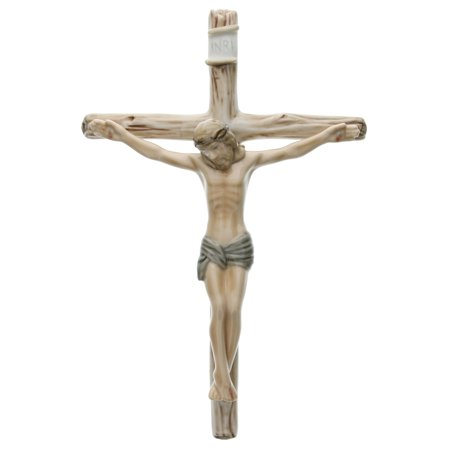 Jesus on the Cross Porcelain Crucifix