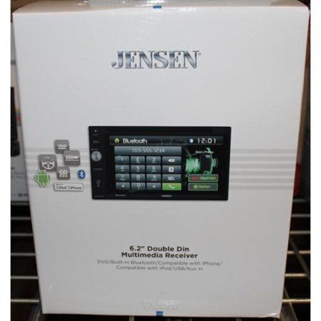 "Jensen VX3020 In-Dash 6.2"" Touchscreen DVD CD MP3 USB SD Car Stereo Receiver w  Bluetooth. by"
