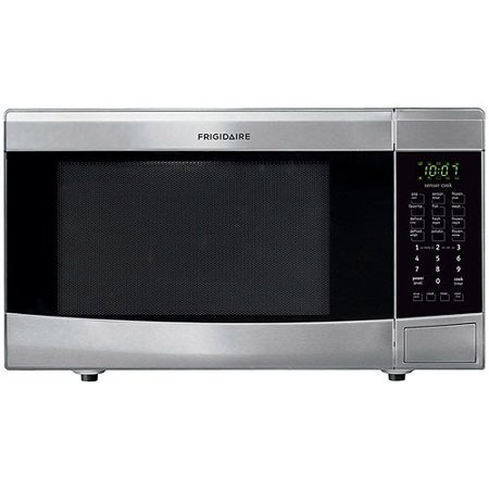 Countertop Microwave Installation : Frigidaire FFMO1611L 1.6 Cubic Foot Countertop Microwave with Easy-Set ...