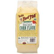Bob's Red Mill Whole Grain Corn Flour, 24 oz (Pack of 4)