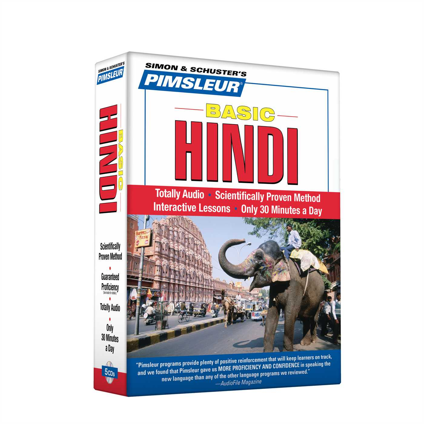 Pimsleur Hindi Basic Course - Level 1 Lessons 1-10 CD : Learn to Speak and Understand Hindi with Pimsleur Language Programs
