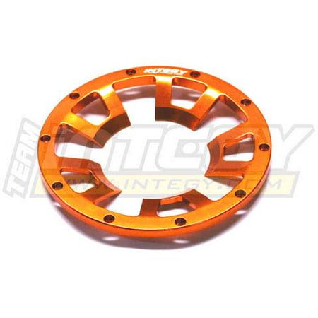 Integy RC Toy Model Hop-ups T6817ORANGE Front Beadlock Ring (1) for HPI Baja (Baja Ring)
